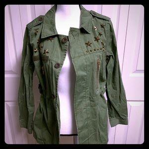 English Rose light military jacket